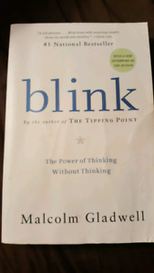 "Book - ""Blink"" by Malcolm Gladwell"