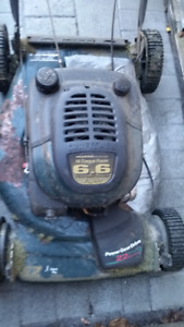 "PARTS Craftsman Lawn Mower - 6.6 HP 22"" Front Drive"