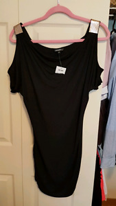 New open shoulder club style dress