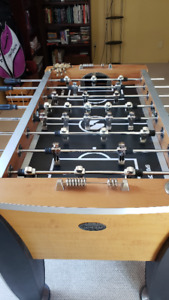 Sportcraft  foosball table ready for quick sale
