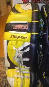 "JAYCO Goalie pads 32"" Oakville / Halton Region Toronto (GTA) image 3"