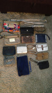 Coach, fossil, Cole haan clutches, wallets and Crossbody bags