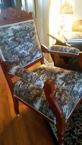 English Fox hunting scene Accent chair Cambridge Kitchener Area image 8