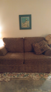 Couch ..love seat ..two end tables..like new queen size mattres.