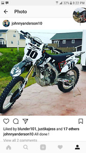 2014 crf450x for sale or trade