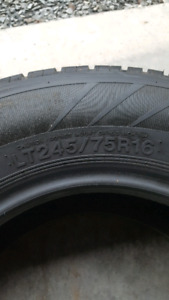 One Hankook tire 245/75R16