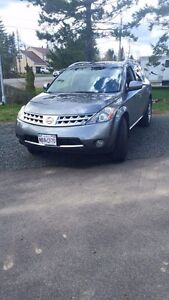 2007 Nissan Murano - fully loaded with heather leather seats
