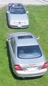 03MercedesBenzClk500 and03 Clk430cnvrtble $ 11,000O.B.O for both