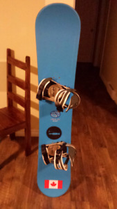 Snowboard package.