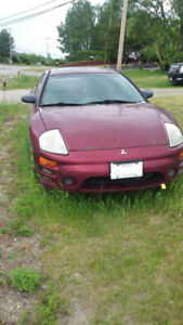 2003 Mitsubishi Eclipse GS : as is