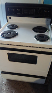 stove, electric, $40, renovations reason for selling