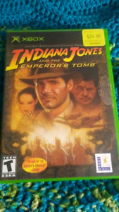 XBOX Original Indiana jones