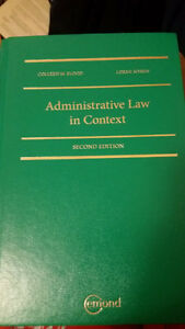 Ryerson PPA 301 Administrative Law in Context (2nd Edition)