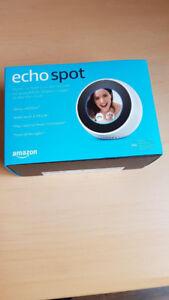 Amazon Echo Spot - Smart Display with Alexa - White