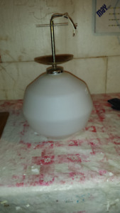 CEILING LAMP FIXTURE ROUND COMPLETE