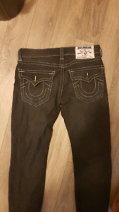 Black true religion denim jeans