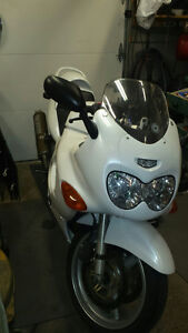 Sport Bike without the cost of sport bike insurance....