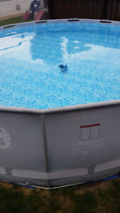 COLEMAN STEEL FRAME POOL