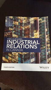 Industrial Relations in Canada -  Book