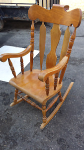 OAK Rocker Chair
