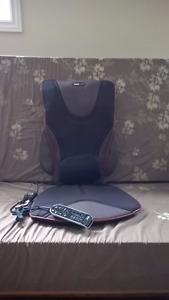 ObusForme© Back Support Massage Cushion with Heat
