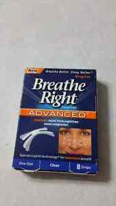 New Breathe right advanced strips