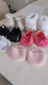 Build-a-bear Shoes (5 pairs)