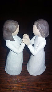 "Willow Tree ""Sisters by Heart"" Angel figures"