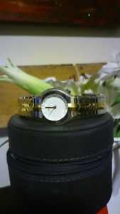 Ladies 18K Gold Two Tone Tag Heuer Watch