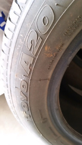 205 /55R16 ALL SEASON TIRES SET OF 4