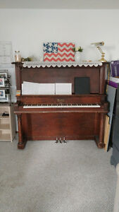 Piano for sale, $150 OBO *must move it yourself*