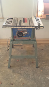 "Small 10"" Table Saw with Stand"