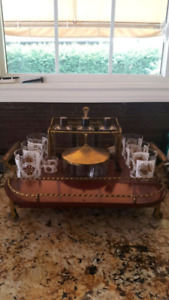 Bar Cart Antique - Tabletop