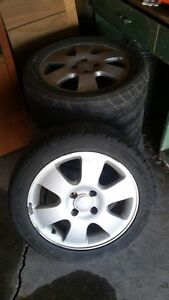 Alloy rims for Ford Focus available for trade