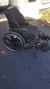 Wheelchair Breezy 600 with many upgrades- Great condition