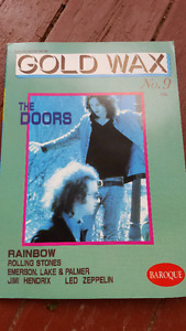 GOLD WAX  ULTIMATE COLLECTORS GUIDE BOOKS DOORS BOWIE STONES