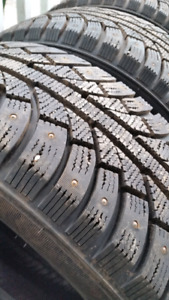 Studded winter tires 18""