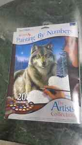 REEVES PAINTING BY NUMBERS ARTIST COLLECTION-SEALED.  STILL NEW