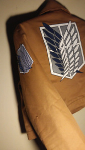 Attack on Titan Cosplay jacket - sm/md