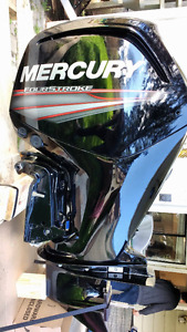2015 75 HP Mercury Outboard Motor - Beautiful condition!