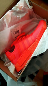 DS Adidas Red Monochrome NMD Size 9.5