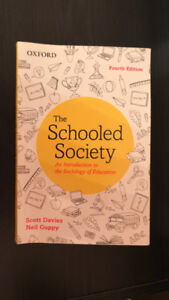 The Schooled Society Davies and Guppy Fourth Edition *no marks*