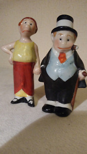 Vintage Maggie and Jiggs salt and pepper