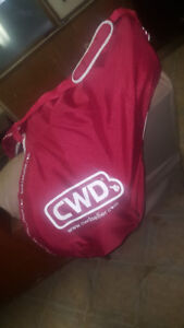 New CWD Waterproof, Rideable Saddle Cover w/ Carrying Strap