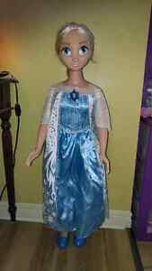 My Size Elsa Doll
