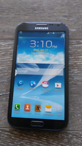 Samsung galaxy note 2, 16gb, unlocked