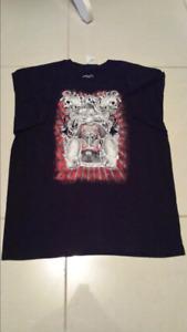 Popeye printed mens black t-shirts