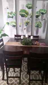Bistro dining room table
