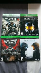 Halo et Gears of War