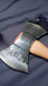 Wetterlings Hand Made Axe (Double Bit) (Carbon Steel)